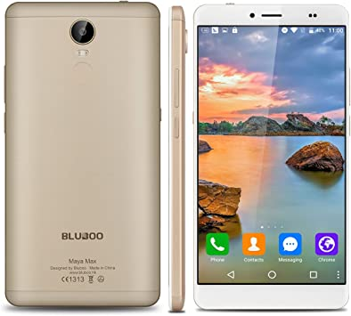 BLUBOO Maya MAX - 32GB Smartphone Libre Android 6.0 (4G, LTE ...