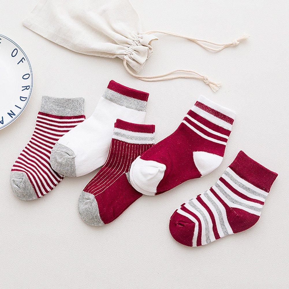 Baby Socks,Digirlsor Unisex Infant /& Toddler Cotton Socks Pack of 5