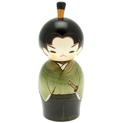 Usaburo Japanese Kokeshi Doll, Hiro The Junior Samurai: Home & Kitchen
