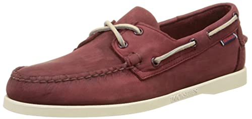 Sebago Docksides, Mocasines para Hombre, Rojo (Red Wine Nubuck), 44: Amazon.es: Zapatos y complementos