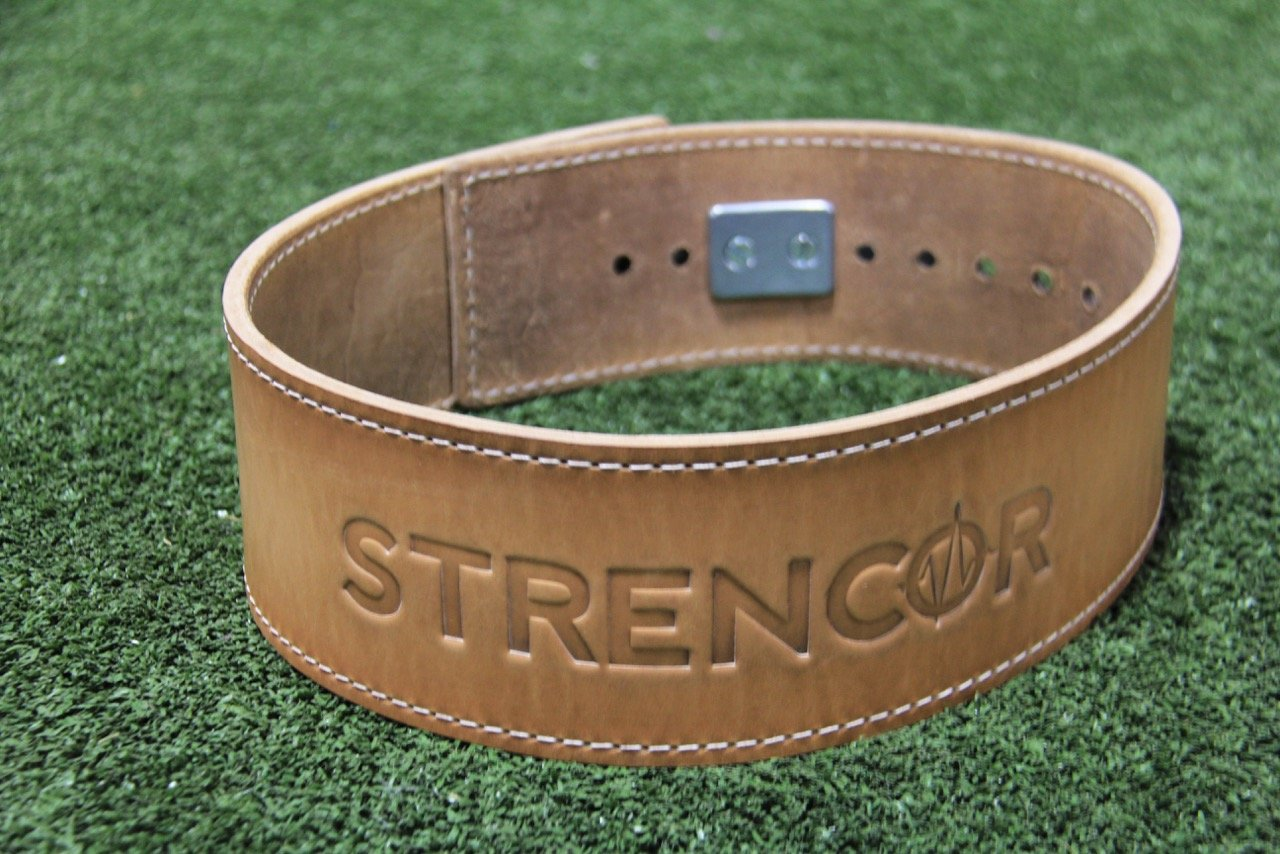 Strencor Leather Power Lifting Belt- Size Large by Strencor Fitness (Image #3)