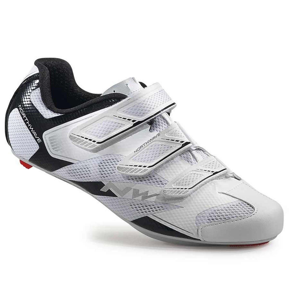 Northwave Sonic 2 Cycling Shoe 2016 B013FJ4F7G 40 White/Black