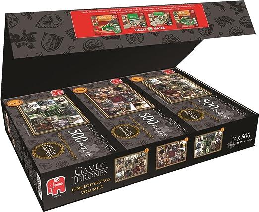 Juegos Jumbo Juego de Tronos Caja Rompecabezas de coleccionista (3 x 500 Piezas): Amazon.es: Juguetes y juegos