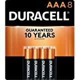 Duracell - CopperTop AAA Alkaline Batteries - long lasting, all-purpose Double A battery for household and business - 8…