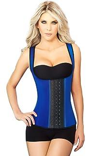 4e80b17d8e7 Ann Chery 2048 Metallic Gold Women 3Hook Latex Waist Trainer Vest ...