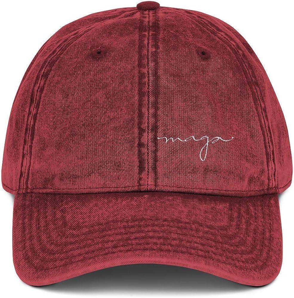 Vintage MAGA Hat Signature...