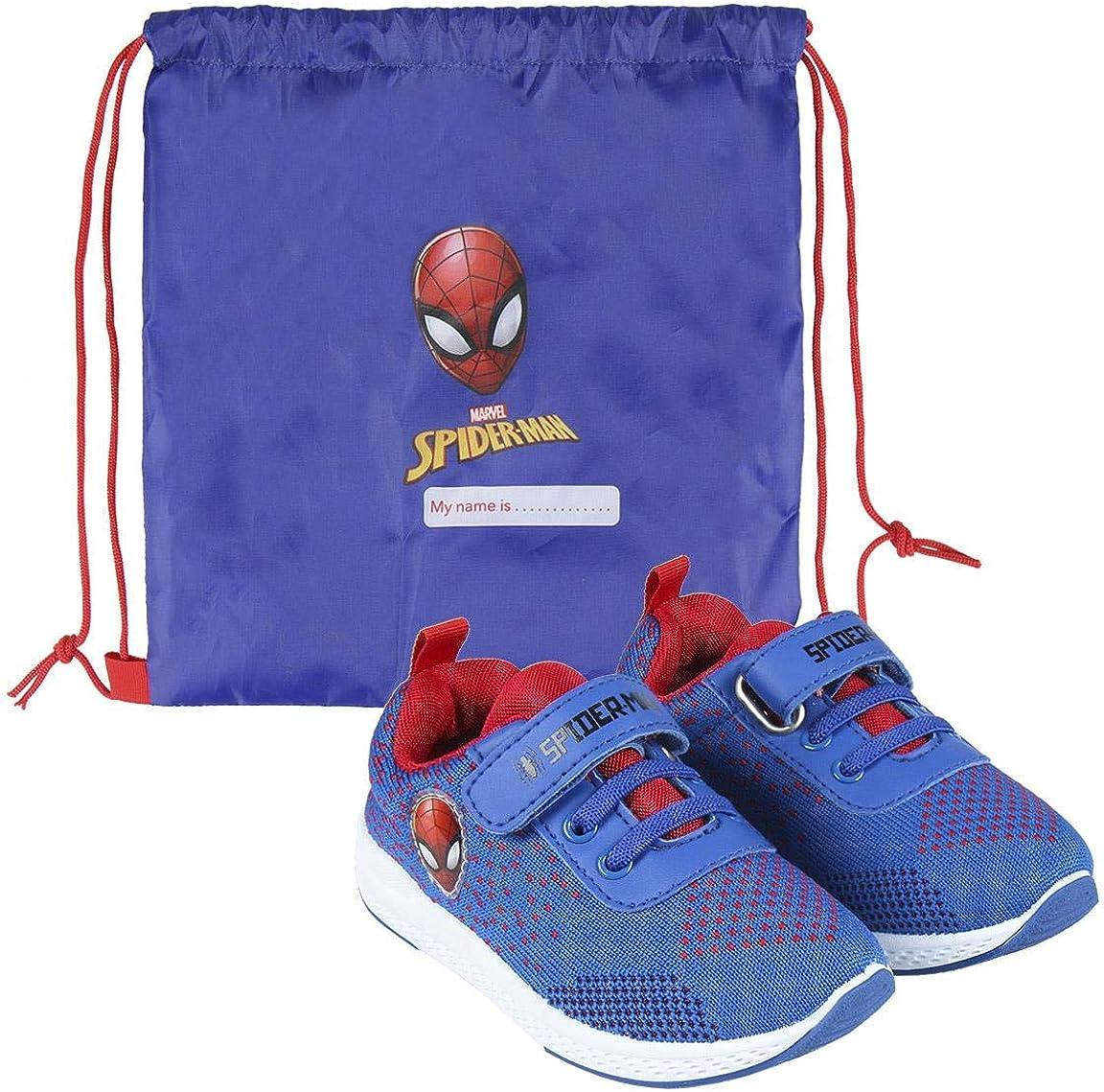 CERD/Á LIFES LITTLE MOMENTS Cerd/á-Zapatillas de Spiderman para Ni/ños de Color Azul