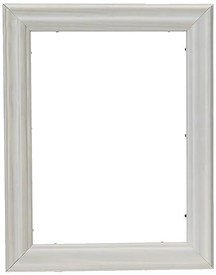 ArtToFrames 16x20 inch White Wash Barnwood Frame Wood Picture Frame ...