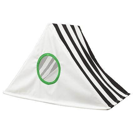 Ikea – Dosel hemmahos Negro de color blanco para niños.