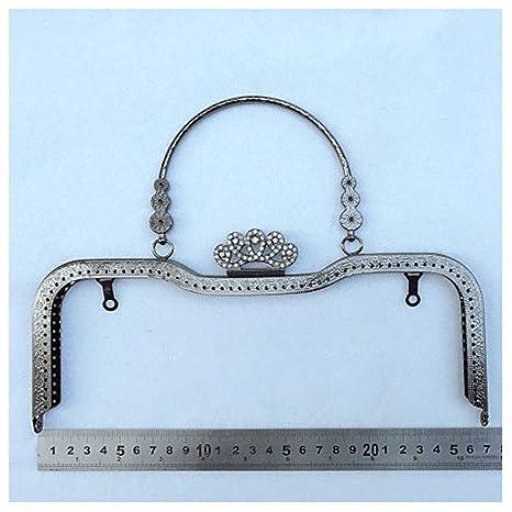 Ownstyle - Cierre de corona con marco de metal para monedero ...