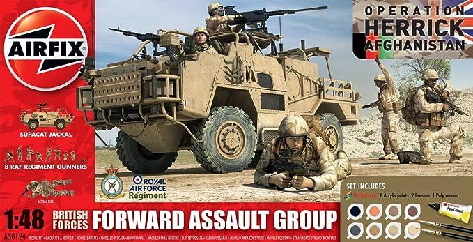 Airfix - AI50124 - Maquette - British Forces - Forward Assault Group