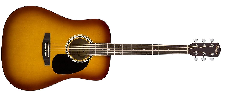 Squier by Fender アコースティックギター SA-150 SQUIER DREADNOUGHT, SUNBURST B076CNH5DL  サンバースト アコースティック