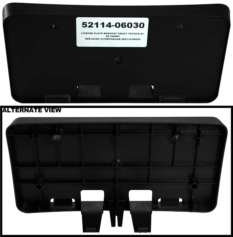 Amazon.com: APDTY 52114-06030 License Plate Plastic Holder Frame ...