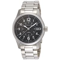 Deals on Hamilton H70595163 Mens Khaki Field Stainless Steel Watch