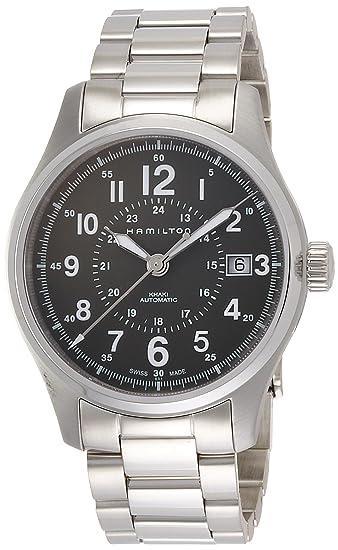 quality design 1392e 19230 Amazon | [ハミルトン] 腕時計 H70595163 正規輸入品 シルバー ...