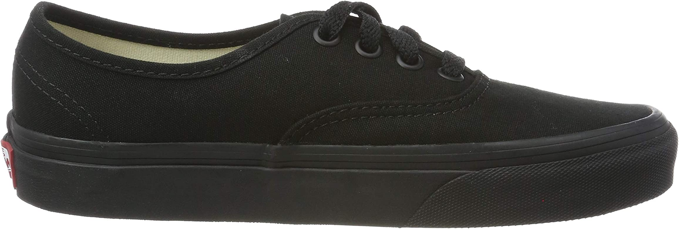 c585e179cc65e Amazon.com | Vans Unisex Authentic Black/Black Sneaker - 7.5 ...
