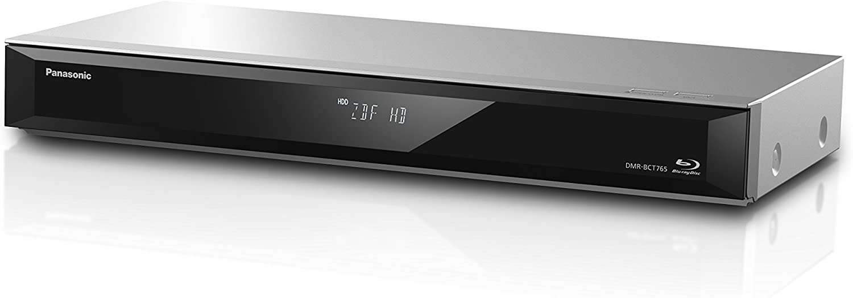Panasonic Dmr Bct765eg Blu Ray Recorder 500gb Hdd Wiedergabe Von Blu Ray Discs 2x Dvb C Und Dvb T Silber Heimkino Tv Video