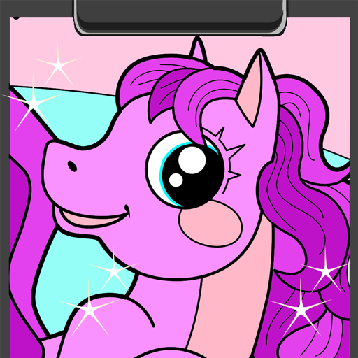 Pony Coloring Book