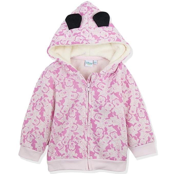 Disney - Sudadera con Capucha - para bebé niño Rosa Minnie Mouse - Pink 2-3 años: Amazon.es: Ropa y accesorios