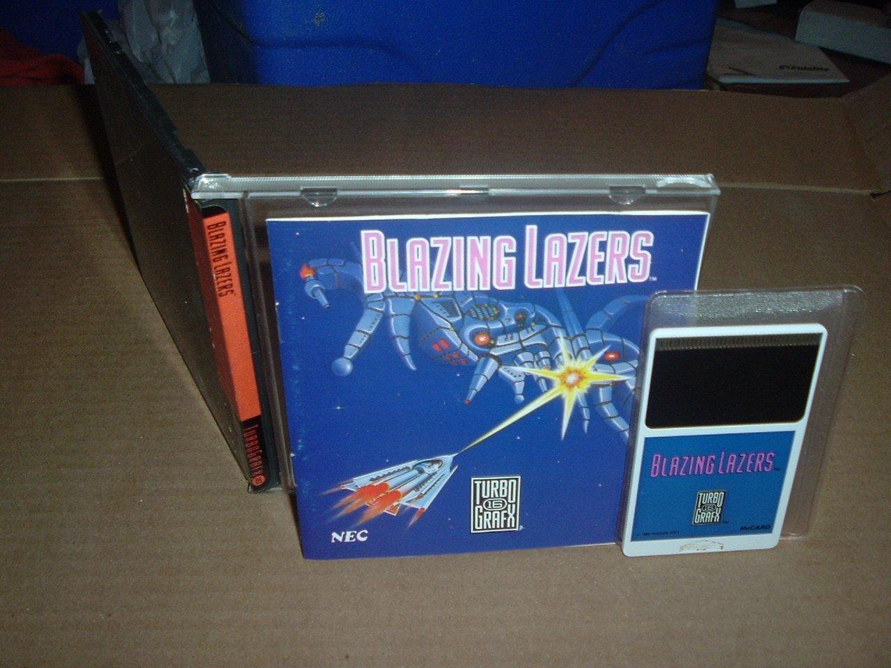 Amazon.com: Blazing Lazers: Video Games