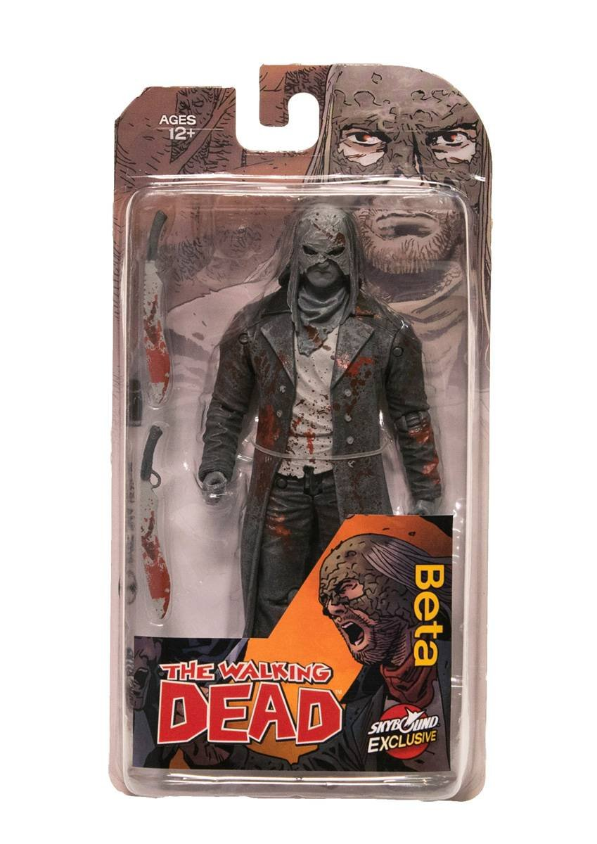 Image Comics The Walking Dead Bloody Beta 6 inch Action Figure