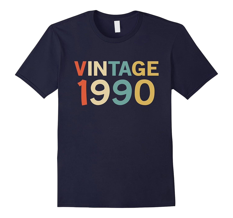 Funny Vintage 1990 Birthday Gift T-Shirt-FL