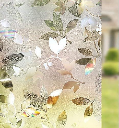 3D protection décoratif film de fenêtre-sécurité pour votre maison confidentialité windows