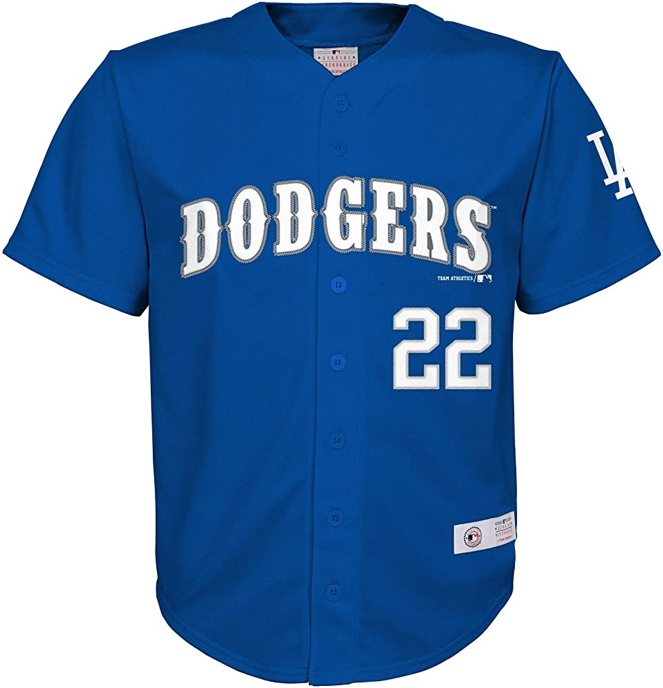 new arrivals 62a82 ca435 Amazon.com: Clayton Kershaw Los Angeles Dodgers #22 Blue ...