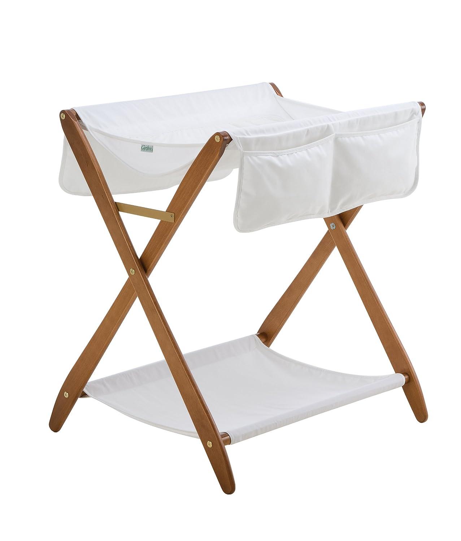 amazoncom  cariboo folding changing table (teak)  bassinets  baby -