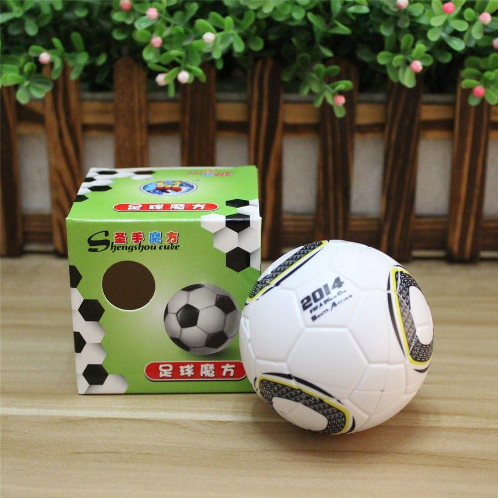 ShengShou 2x2 Fútbol Cubo mágico Balón de fútbol 2x2 Cubo de ...