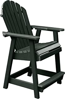 product image for Highwood AD-CHCA2-CHE Hamilton Counter Height Deck Chair, Charleston Green