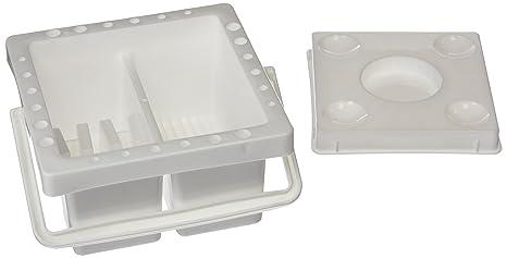 Plascolor PP412 - Cubo limpia pincel multiuso cuadrado