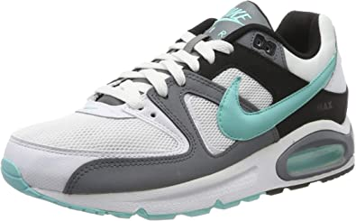 Nike Air Max Command 629993-110 - Zapatillas para hombre, color blanco,  verde y gris