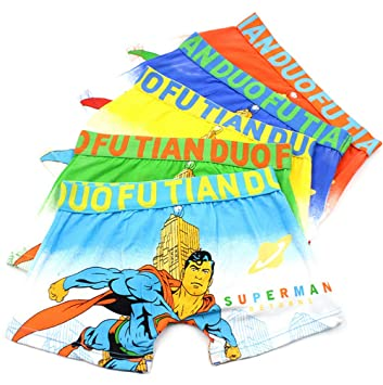 Image Unavailable. Image not available for. Color  2-8 Years Boys Cotton Superman  Boxer Briefs Character Underwear 5 Pack 17309901d5