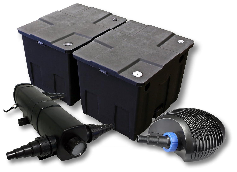 SunSun filtros para 60.000l Estanque con 36W Clarificador y 40W ...