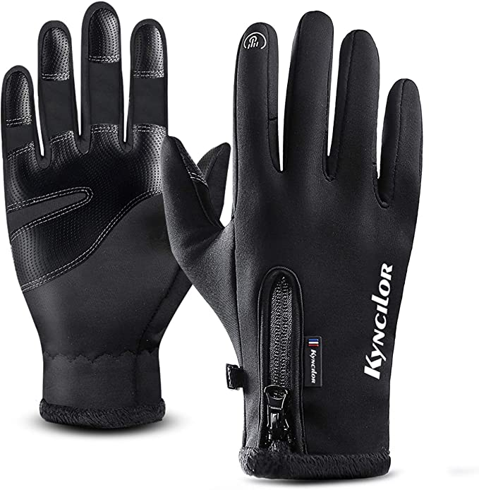 T98 Touchscreen Handschuhe Fahrradhandschuhe Laufhandschuhe Winter Warme Sporthandschuhe Herren Damen Winddicht Wasserdichter Winterhandschuhe Für Radfahren Wandern Skifahren Bekleidung