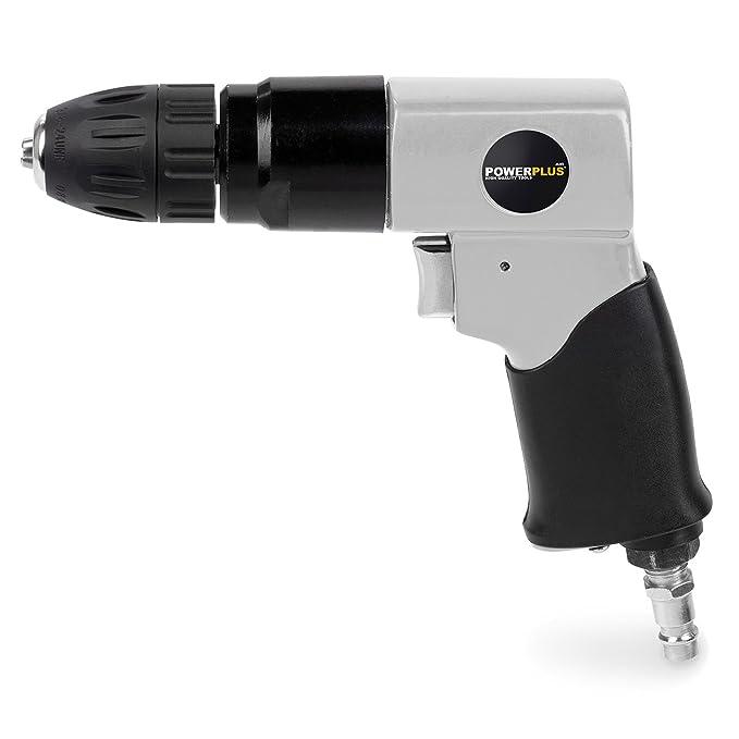 PowerPlus POWAIR0802 Taladro/Atornillador Neumático: Amazon.es: Bricolaje y herramientas