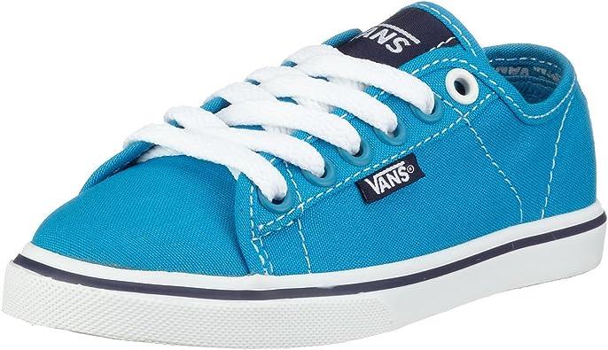 chaussures vans fille bleu