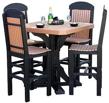 Amazon.com: Furniture Barn USA Classic - Juego de mesa y 4 ...