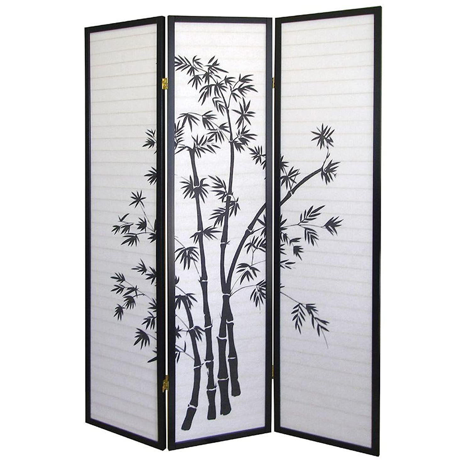 amazoncom new panel room divider bamboo shoji screen kitchen  - amazoncom new panel room divider bamboo shoji screen kitchen  dining