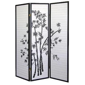 New 3 Panel Room Divider Bamboo Shoji Screen