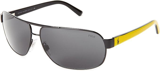 Ralph Lauren Gafas de Sol Polo PH3066 MATTE BLACK - GRAY: Amazon.es: Ropa y accesorios
