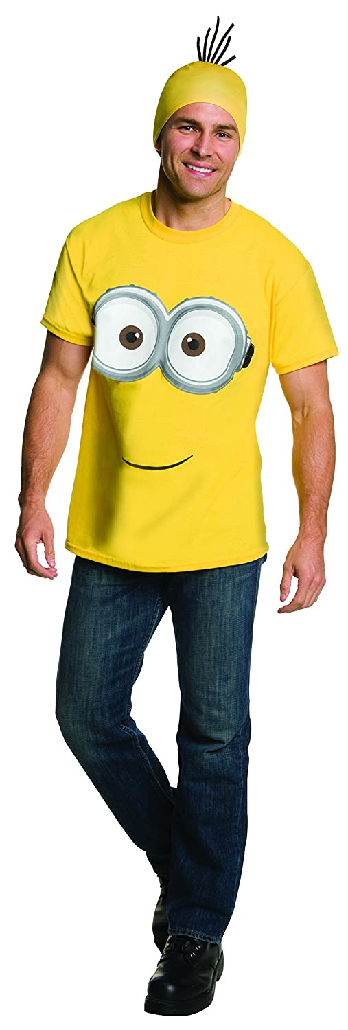 Rubie's Costume Co Men's Minion Costume T-Shirt Rubies Costumes - Apparel 810785