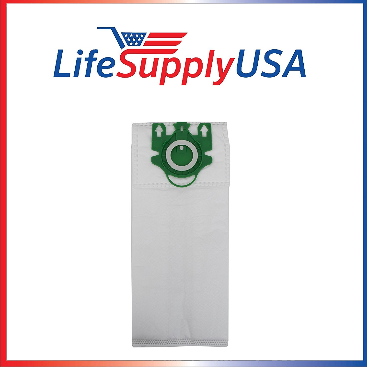 20 Pack Vacuum Bag Set Includes 5 Motor and 5 Air Filter for Miele Type U, S7 Series by LifeSupplyUSA