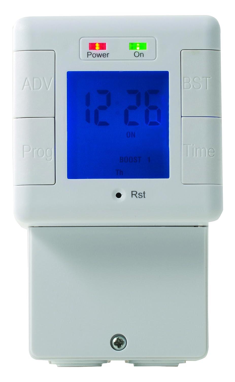 masterplug 240 V Digital Weekly Immersion Heater Timer: Amazon.co.uk ...