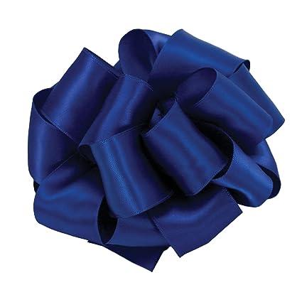 Amazon Offray Berwick 15 Single Face Satin Ribbon Royal Blue