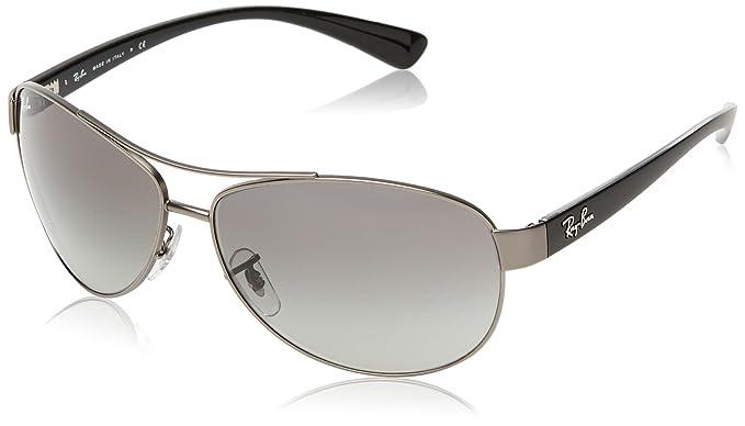 6590dc52ed Ray-Ban Aviator Sunglasses (Grey) (Rb3386 001 13 63)  Amazon.in ...