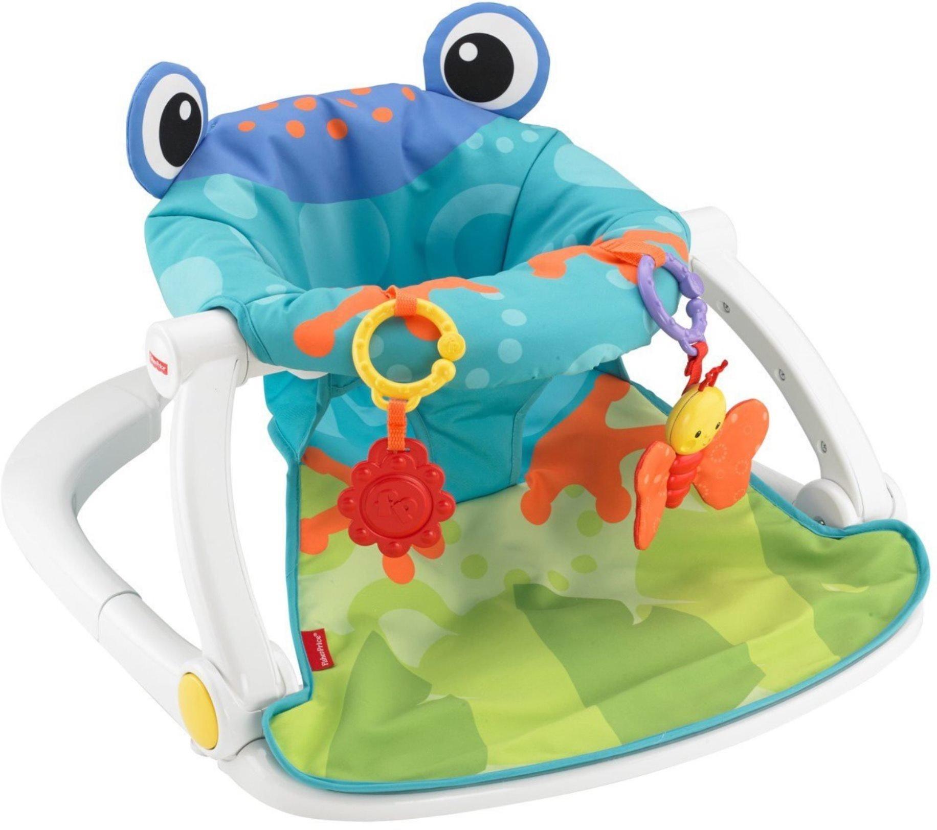 Amazon.com : Fisher-Price Deluxe Sit-Me-Up Floor Seat : Infant ...