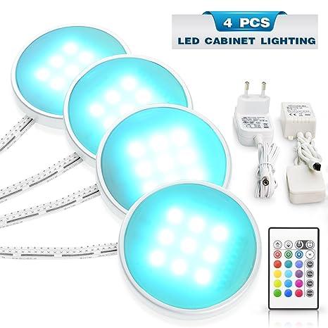 Under Cabinet Lighting LED Puck Lights Kitchen Cabient Lights,Shelf Lighting ,Under Counter Lighting