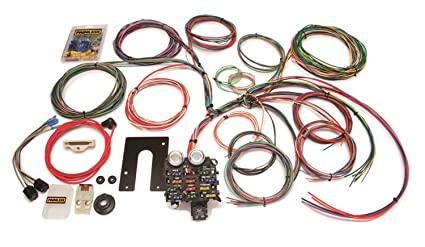 amazon com painless wire 10105 wiring harness with firewall grommet rh amazon com cj wire harness and assembly jeep cj wiring harness diagram